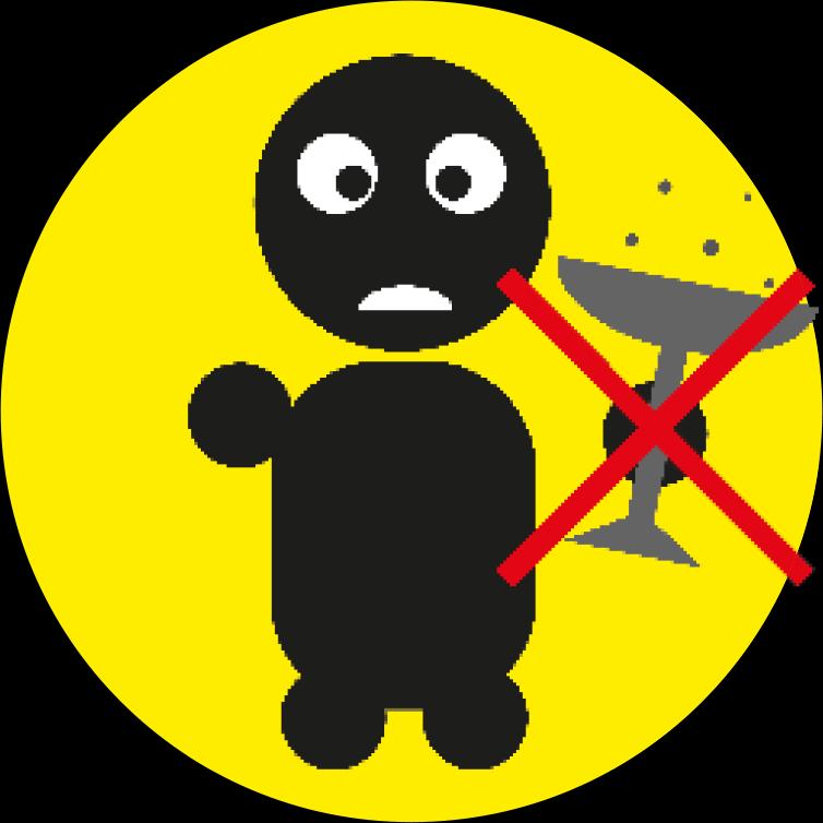 Gebruik geen alcohol voor of tijdens het afsteken.